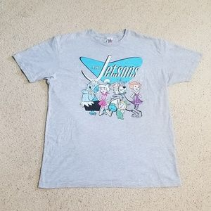 The Jetsons Size XL Gray T-Shirt